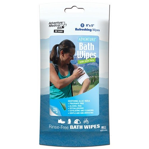 Adventure Bath Wipes-Travel Size