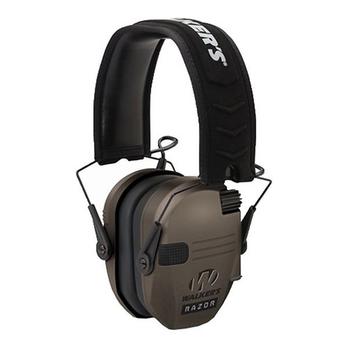 Flat Dark Earth Razor Series Slim Ear Muff