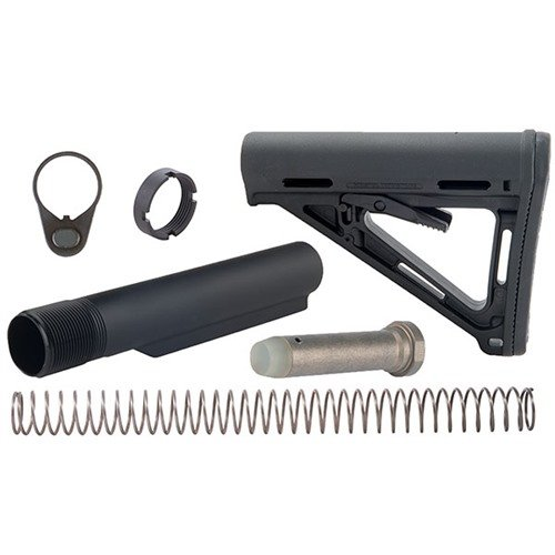 AR-15 MOE Stock Assy Collapsible Mil-Spec BLK