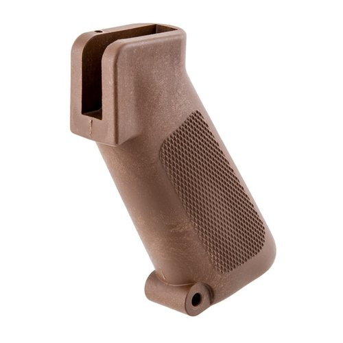 AR-15 Pistol Grip - Brown - Original AR-15