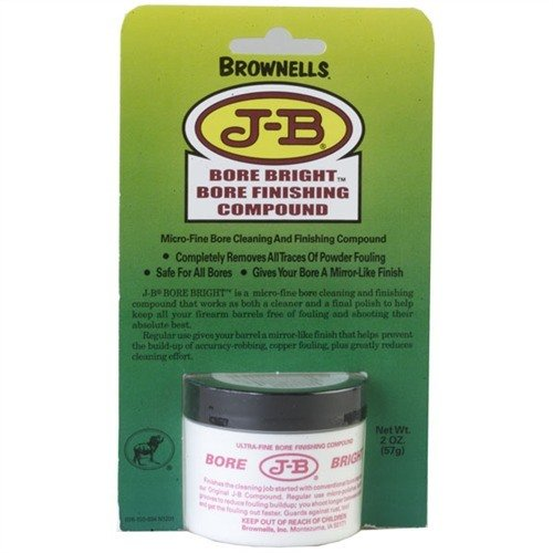 1 Carton (12-2oz Containers) J-B Bore Bright