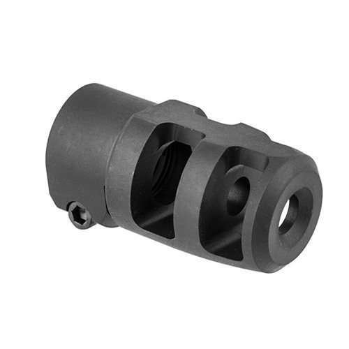 Mini FTE Muzzle Brake 30 Caliber 5/8-24 Steel Black