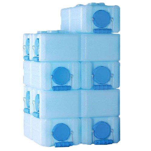 3.5 Gallon-Blue-8 Pack