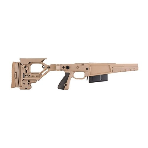 Rem 700 .338 Lapua AX Stage 2 Stock Chassis Polymer FDE
