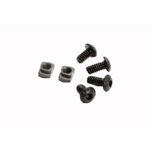 M-LOK T-Nut Replacement Screws Steel Black