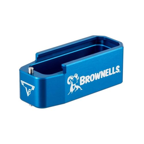 AR-15 Brownells 5.56 PMAG Magazine Extension Blue