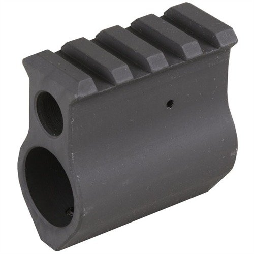 AR-15 Gas Block Picatinny .750 Steel Black