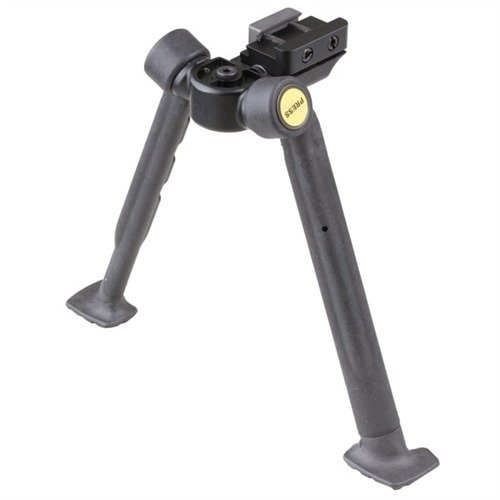 "Advanced Combat Bipod Picatinny Mount 8-10.5"" Black"