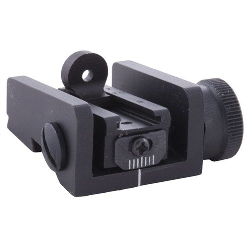 Springfield M1 Carbine Adjustable Rear Sight Black