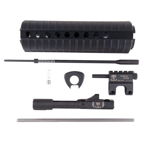 AR-15 Gas Piston Conversion Kit Mid-Length Black