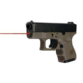 Guide Rod Red Laser Gen 1-3 Glock 26, 27, 33
