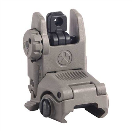 AR-15 Flip-Up MBUS Gen 2 Tactical Rear Sight Dark Earth
