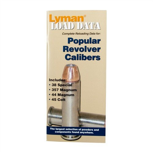 Load Data-Popular Revolver Calibers