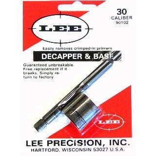 Lee Decapper & Base, .30 Cal