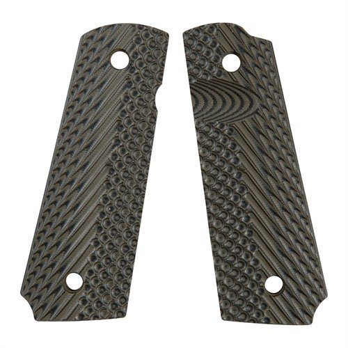 VZ Operator II Grips, Dirty Olive