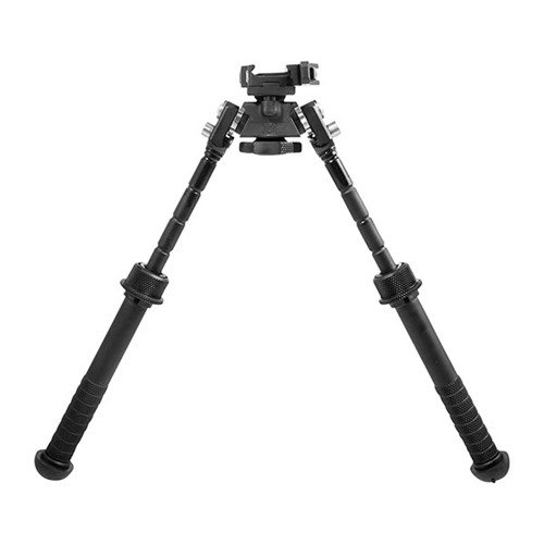 "Atlas PSR Bipod QD Lever Picatinny Mount 5-9"" Black"