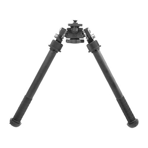 "Atlas Tall Bipod No Clamp Picatinny Mount 7-13"" Black"