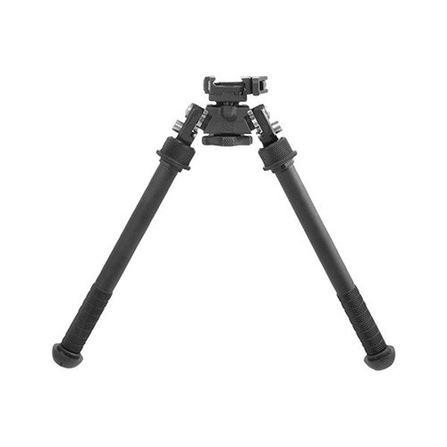 "Atlas Tall Bipod QD Lever Picatinny Mount 7-13"" Black"