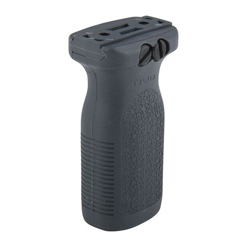 Picatinny RVG Railed Vertical Grip Polymer Gray