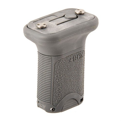 Keymod BCMGUNFIGHTER Short Vertical Grip Polymer Gray
