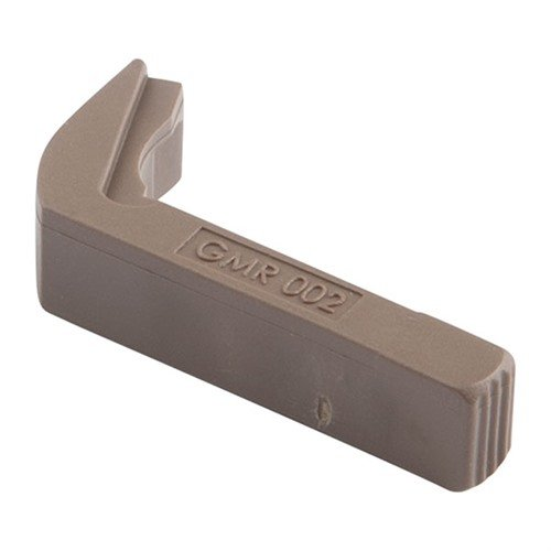 Vickers Glock Large Frame EXT Mag Release, Tan