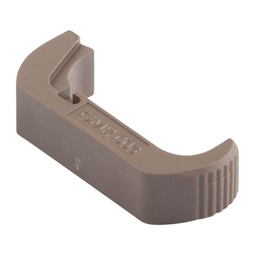 Vickers Tactical Extended Glock Mag Release, Glock Tan