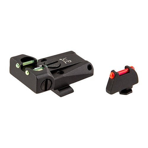 Glock Fiber Optic Adj Sight Set