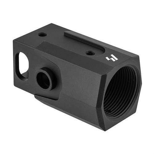 AK to AR Buffer Tube Adapter Black Aluminum