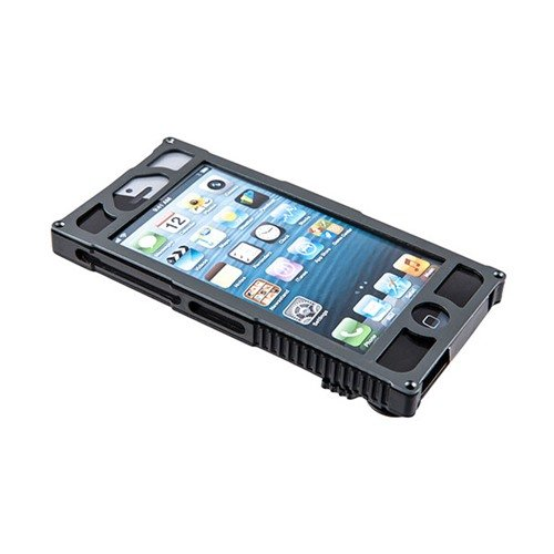 Alpha 1 Tactical iPhone 5 Case-Charcoal