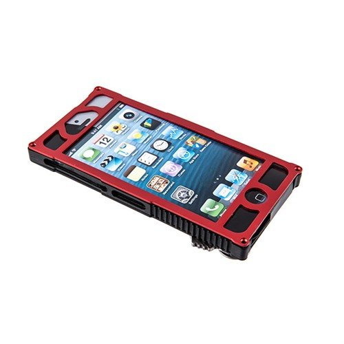 Alpha 1 Tactical iPhone 5 Case-Red