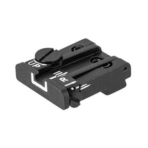 Adjustable White Outline Rear Sight for Glock™