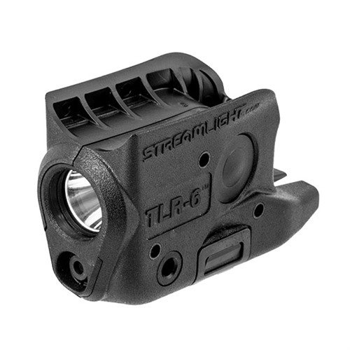 Glock® 42/43 TLR-6 Weapon Light & Laser Black