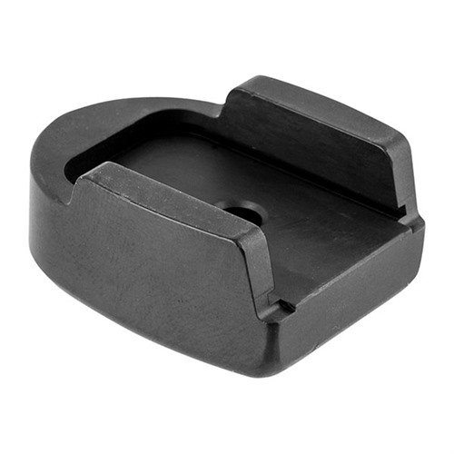 "1/2"" Standard Base Plate-Filled Wing-Black, 9mm/.40/.357"
