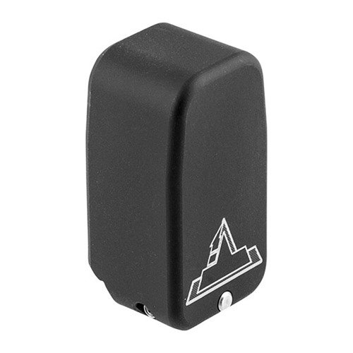 Firepower Base Pad for Glock 43 +2, Flat Black