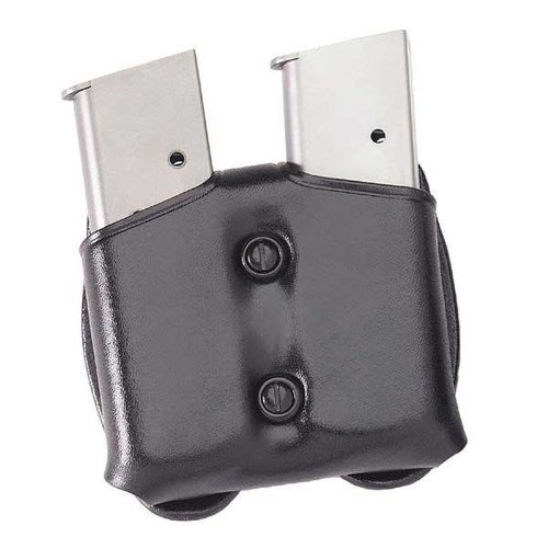 Cop Dual Magazine Carrier .40 Staggered Polymer Mag-Black