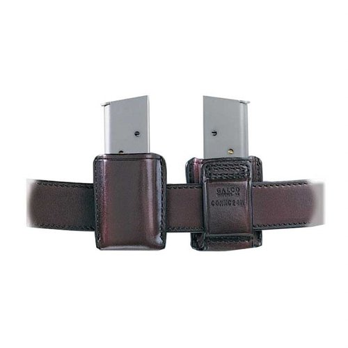 Concealable Mag Carrier .40 Staggered Metal Mag-Havana