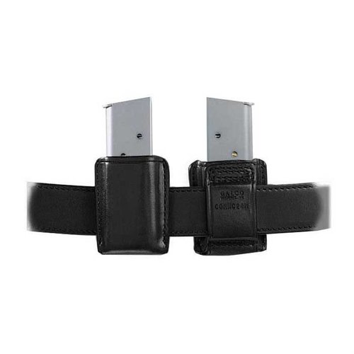 Concealable Mag Carrier .45 Staggered Metal Mag-Black