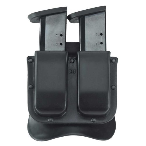 M11X Double Mag Carrier .40 Staggered Polymer Mag-Black