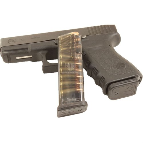 Translucent Magazine 15rd for Glock 19