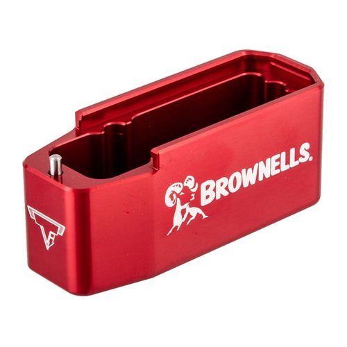 AR 308 Brownells 7.62 PMAG Magazine Extension Red
