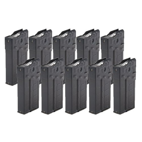 German G3 Aluminum Magazine 20-Rd Used 10-pack