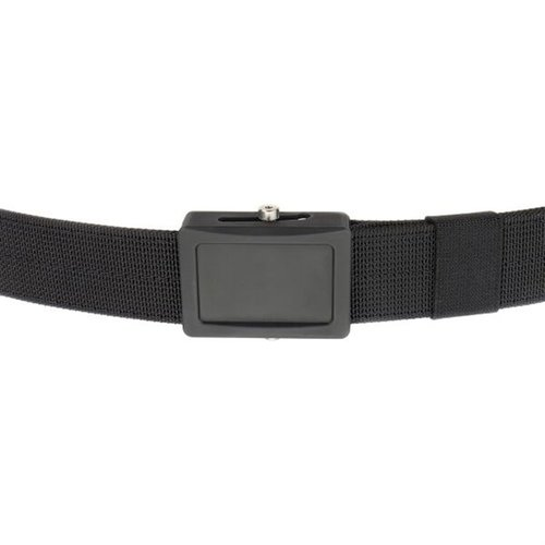 Aegis Belt Black Buckle Black Webbing Medium