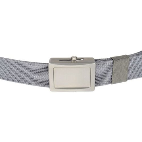 Aegis Belt Stainless Buckle Grey Webbing Large