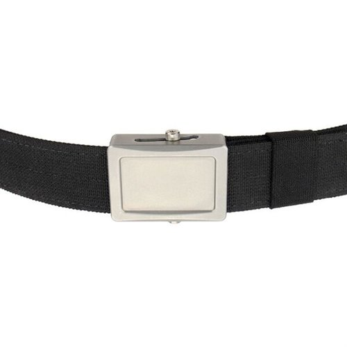 Aegis Enhanced Belt Stainless Buckle Black Webbing Medium