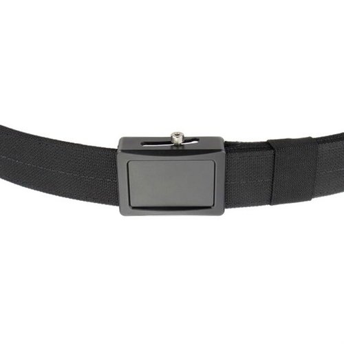 Aegis Enhanced Belt Black Buckle Black Webbing Small