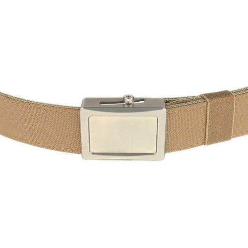 Aegis Enhnaced Belt Stainless Buckle Coyote Webbing Large