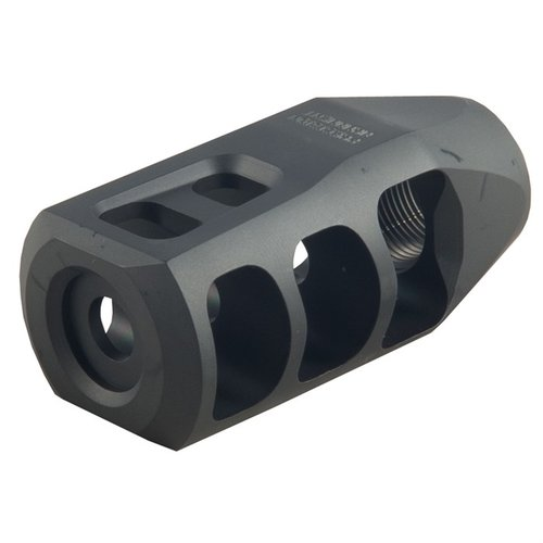 M11 Severe Duty Muzzle Brake 6.5 5/8-24 SS Black
