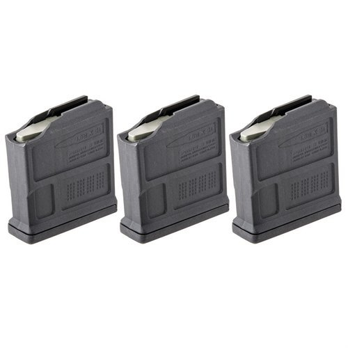 Short Action AICS PMAG AC Magazine 308 Win 5rd Polymer Blk