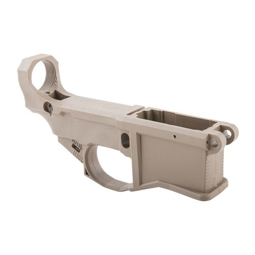 AR-15 80% Polymer Lower Receiver with Jig Kit FDE