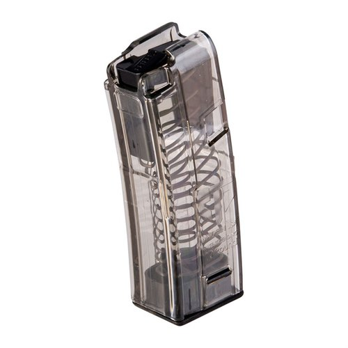 H&K MP5 Magazine 9mm 10rd Polymer Translucent